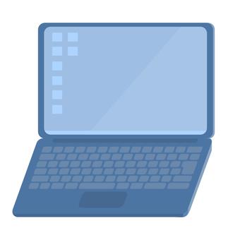 簡單輕薄的筆記本電腦