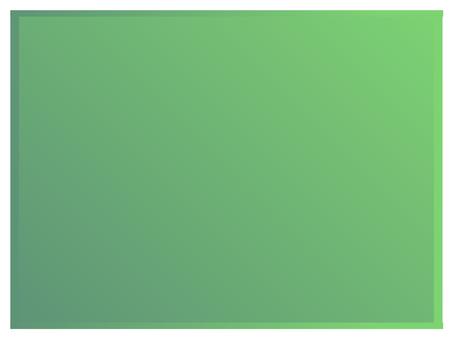 Simple frame (green)