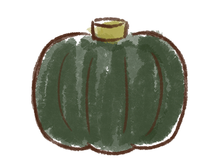 Crayon series [Pumpkin]