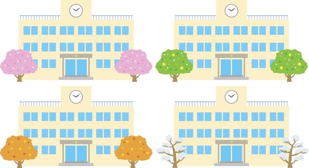 School building season