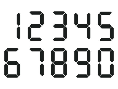 Digital numbers