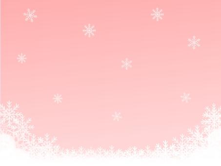 Christmas winter background (no logo pink)