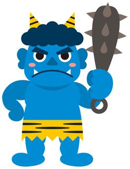 Oni - 02 (blue demon)