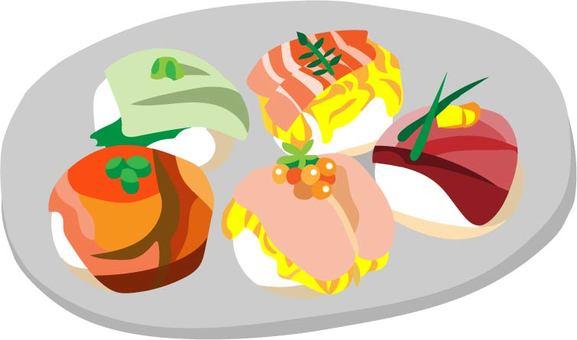 Terari sushi