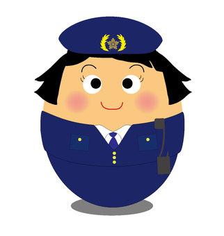 Maru female police officer