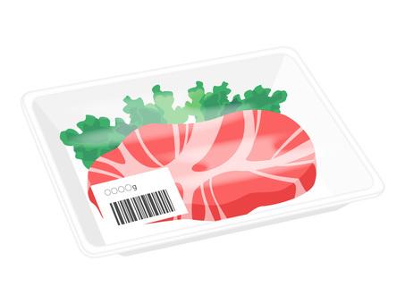 Steak meat pack