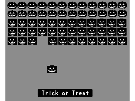 Halloween material retro game 2