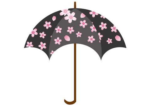 Umbrella (cherry tree) 1