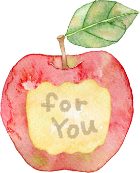 Apple bite mark foryou