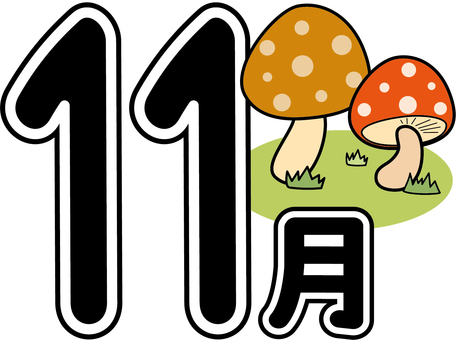 Season November (mushroom) reform