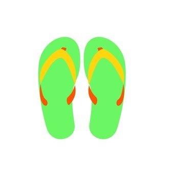 Beach sandals 1