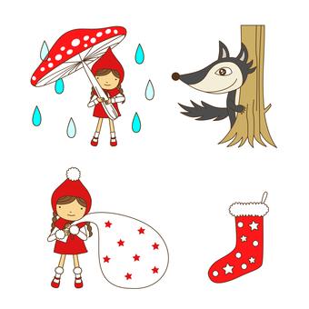 Little Red Riding Hood Set · 03