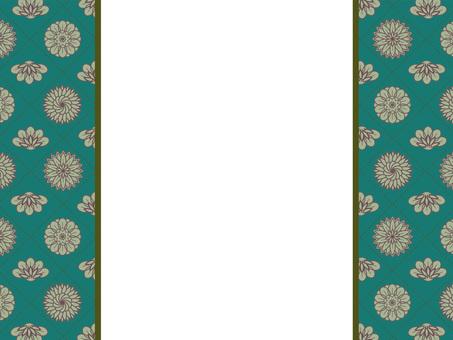 Botanical pattern frame 26