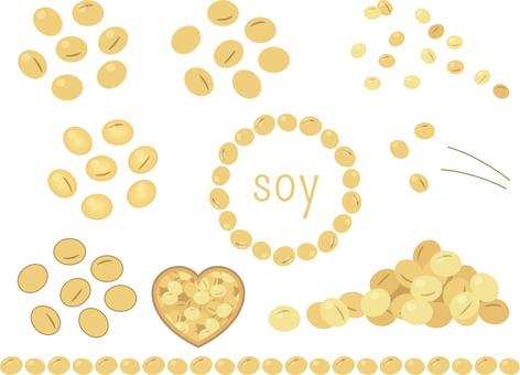 Soybean set