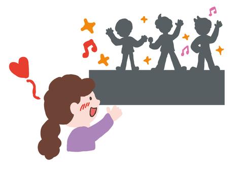 Idol concert