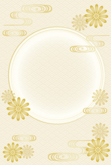Japanese pattern frame