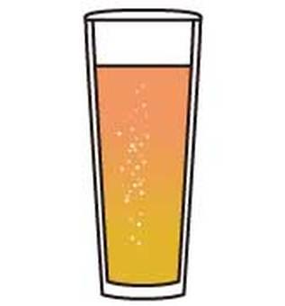 Beer _ weizen glass