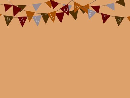 万圣节框架(仅国旗)