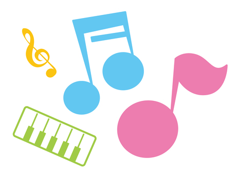 Musical note set 3