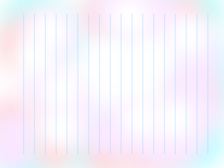 Paper of light blue and pink