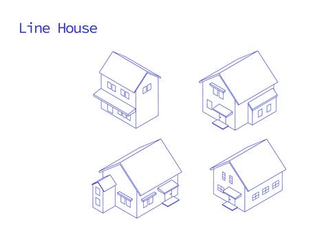 House Line Set