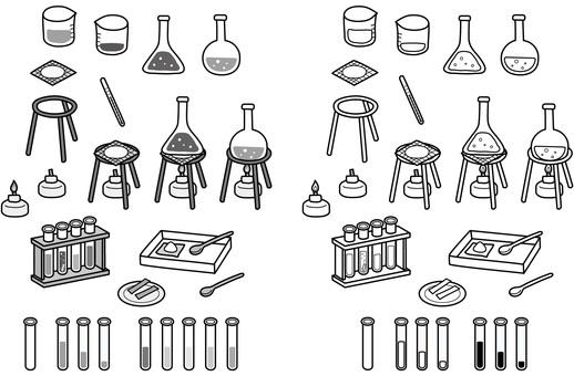 Scientific experiment tool (monochrome)