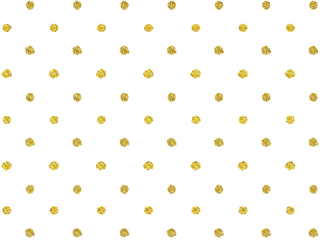Gold, gold, glitter dot [small]