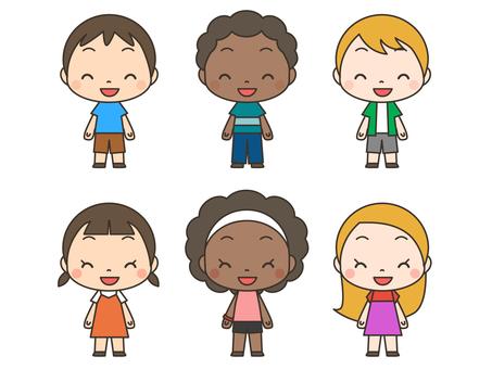 Multinational child 02_ smile
