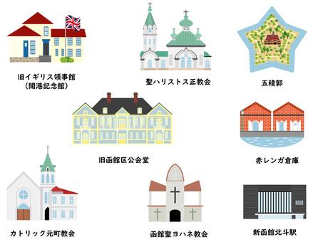 Tourist spots in Hokkaido ① Hakodate