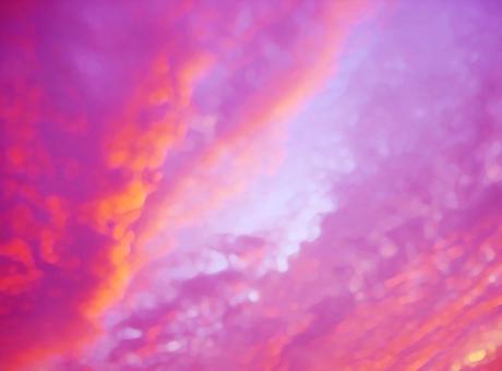 Blue sky dusk sunset clouds