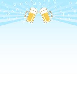 ビールジョッキのポップ3