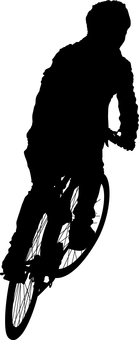 Bicycle Cycling Silhouette