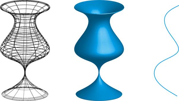 Medieval glass (rotating body)