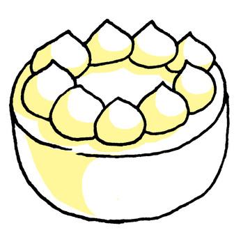 Make a cake table yourself (^ ^ ♪