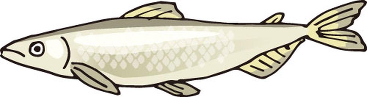 물고기 (열빙어)