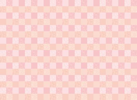 바둑판 무늬 (핑크)