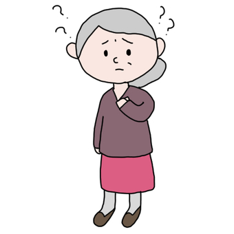 Granny with dementia