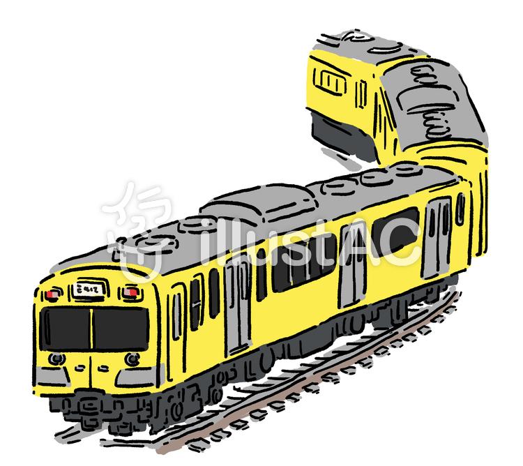 電車イラスト , No 835611/無料イラストなら「イラストAC」