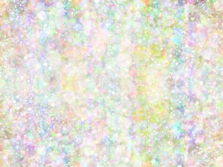 Mixing dot 17 (rainbow)