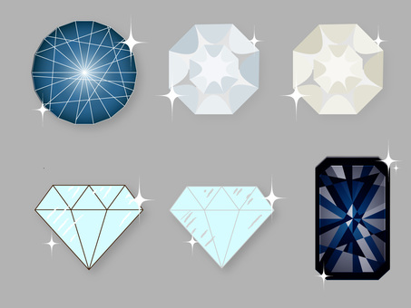 Glitter jewelry summary diamond