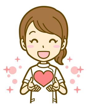 女(護士):B_ Heart 03BS