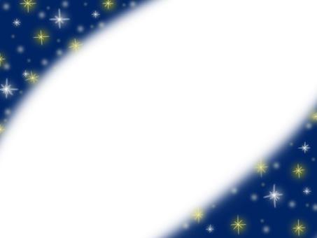 밤하늘의 별 프레임