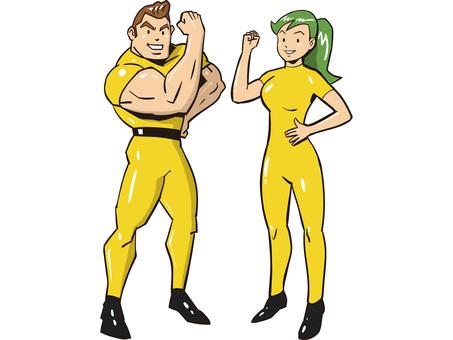 Energetic pair
