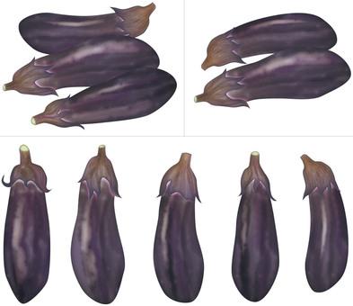 Eggplant (deep purple) / vegetables