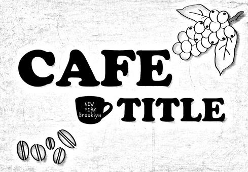 Coffee shop sign design 3