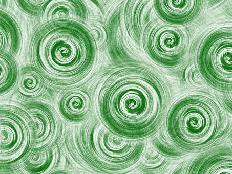 Swirl background (green)