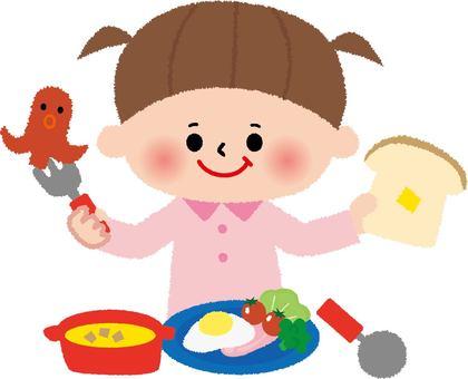 Breakfast (children) Western food