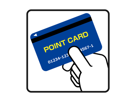 You can use a point card!
