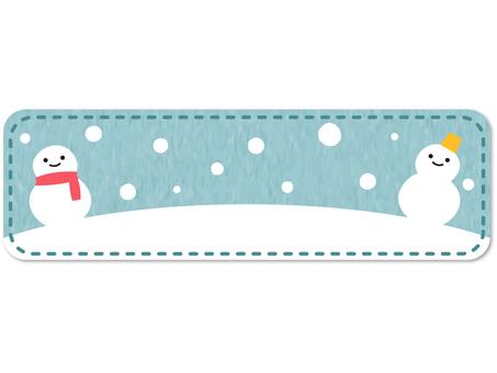 Snowman frame_side