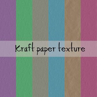 Kraft Paper Texture Set Wallpaper